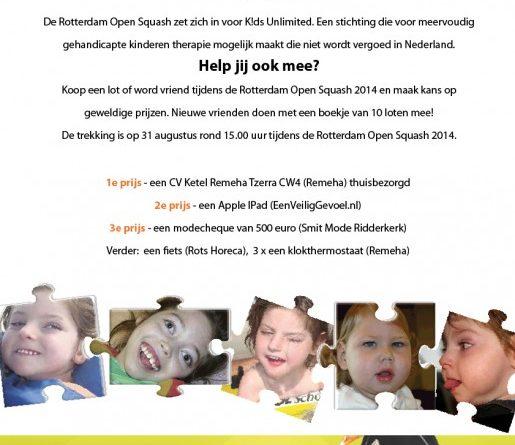 Rotterdam Open Squash groot succes