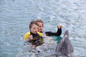 Dolfijn ondersteunende therapie cdtc Aiden